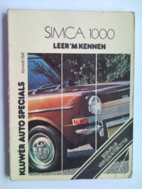 Simca 1000  Leer 'm kennen 64-75 #1 Nederlands
