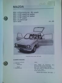 Mazda 323  Vraagbaak ATH 77-79 #2 Nederlands