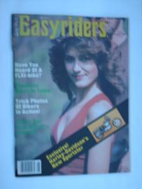Easyriders Tijdschrift 1982 NR 110 #1 Engels