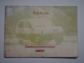 Fiat Panda  Instructieboekje 80 #1 Nederlands
