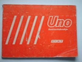 Fiat Uno  Instructieboekje 83 #1 Nederlands