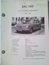 BMC 1800 Ado 17 Vraagbaak ATH 65-66 #2 Nederlands