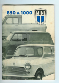 Austin Mini 850 1000 Instructieboekje 75 #1 Nederlands