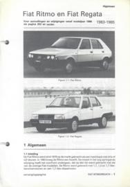 Fiat Ritmo Regata  Vraagbaak ATH 83-85 #2 Nederlands