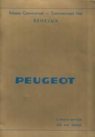 Peugeot   Dealerlijst 73 #3 Nederlands Frans