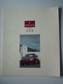 Rover 600  Brochure 94 #1 Nederlands