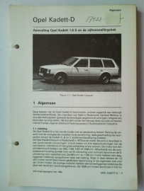 Opel Kadett D  Vraagbaak ATH 79-81 #1 Nederlands