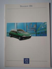 Peugeot 106  Brochure 93 #4 Nederlands