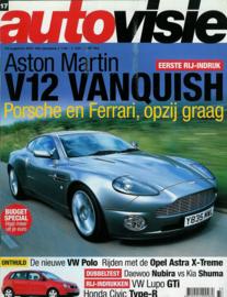 Autovisie   Tijdschrift 2001 NR 17 #1 Nederlands