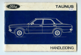 Ford Taunus  Instructieboekje 71 #1 Nederlands