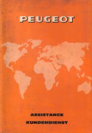 Peugeot   Dealerlijst 78 #3 Engels Frans Duits