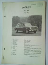 Morris 1100  Vraagbaak ATH 62-63 #2 Nederlands