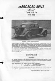 Mercedes-Benz Type 170 Da  Vraagbaak ATH 50-52 #1 Nederlands