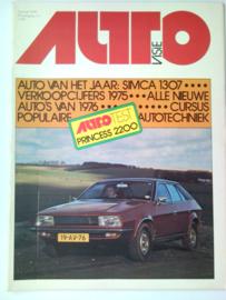 1976 Autovisie NR 01 tijdschrift