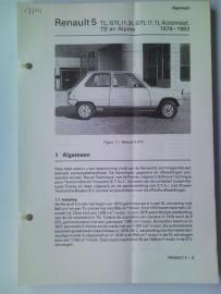 Renault 5  Vraagbaak ATH 79-83 #1 Nederlands