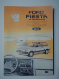 Ford Fiesta  Instructieboekje 83 #1 Nederlands