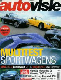 Autovisie   Tijdschrift 2001 NR 16 #1 Nederlands