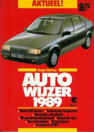 Auto Wijzer   Jaarboek 1989 #1 Nederlands