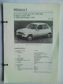 Renault 5  Vraagbaak ATH 76-78 #1 Nederlands