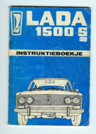 Lada 1500S  Instructieboekje 74 #1 Nederlands