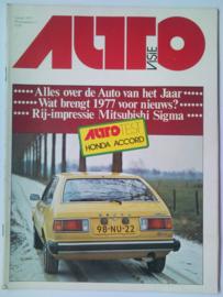 Autovisie Tijdschrift 1977 NR 01 #1 Nederlands