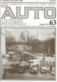 Alt-Auto Mobil 63    1986 #1 Duits