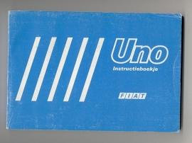 Fiat Uno  Instructieboekje 88 #1 Nederlands