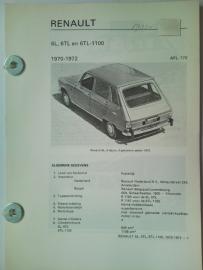 Renault 6  Vraagbaak ATH 70-72 #2 Nederlands