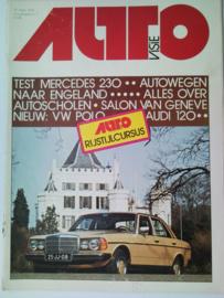 1976 Autovisie NR 07 tijdschrift