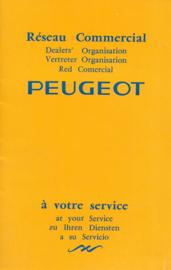Peugeot   Dealerlijst Jaar #1 Engels Frans Duits Spaans