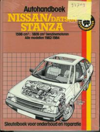 Nissan Datsun Stanza  Autohandboek 82-84 #1 Nederlands