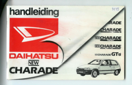Daihatsu Charade  Instructieboekje 87 #1 Nederlands