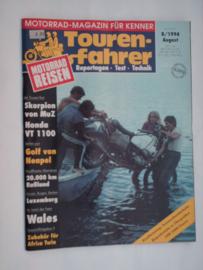 Touren-Farher Tijdschrift 1994 NR 01/2 Januari/Februari #1 Duits
