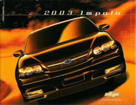 Chevrolet Impala  Brochure .03 #1 Engels