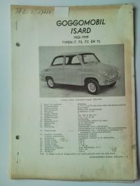 Goggomobil Isar T TS TC TL  Vraagbaak ATH 55-59 #1 Nederlands