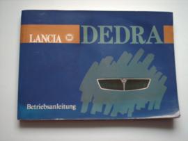 Lancia Dedra  Instructieboekje 91 #1 Duits