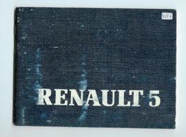 Renault 5  Instructieboekje 85 #1 Frans