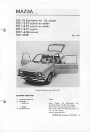 Mazda 323  Vraagbaak ATH 77-79 #3 Nederlands