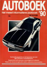 Autoboek   Jaarboek 1990 #4 Nederlands