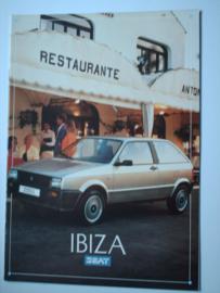 Seat Ibiza  Brochure 87 #3 Nederlands