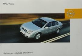 Opel Vectra C  Instructieboekje 2003 -09 #1 Nederlands
