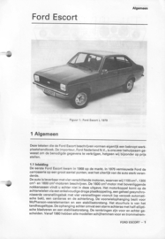 Ford Escort  Vraagbaak ATH 78-80 #1 Nederlands