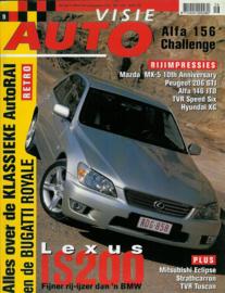 1999 Autovisie NR 09 tijdschrift