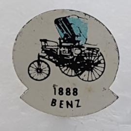SP0312 Speldje 1888 Benz [blauw]