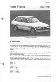 Ford Fiesta  Vraagbaak ATH 83-87 #1 Nederlands