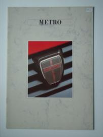Austin Metro  Brochure 87 #3 Nederlands