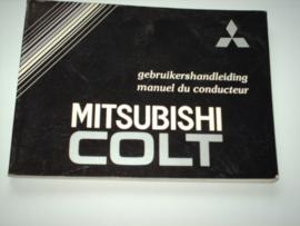 Mitsubishi Colt  Instructieboekje 90 #1 Nederlands Frans