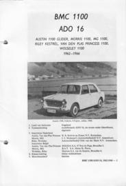 BMC 1100 Ado 16 Vraagbaak ATH 62-66 #4 Nederlands