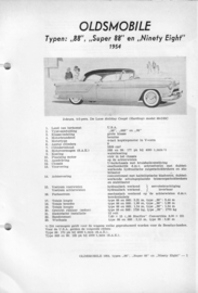 Oldsmobile 88 Super 88 Ninety eight  Vraagbaak ATH 54 #2 Nederlands