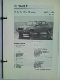 Renault 14  Vraagbaak ATH 77-79 #1 Nederlands